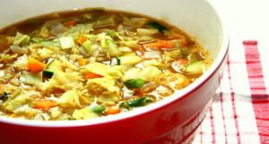 journée avec le régime soupe