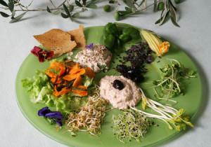 Exemple de repas sur une semaine de régime Okinawa dans sa version occidentale