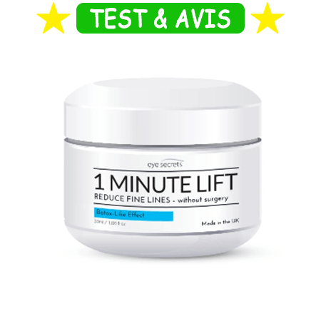 Eye Secrets 1 Minute Lift avis
